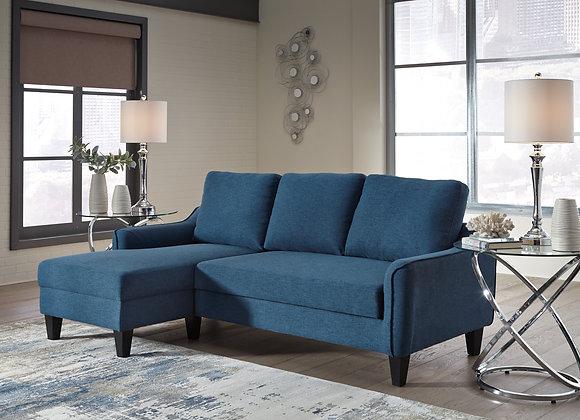 Jarreau Sofa Chaise Sleeper - Blue