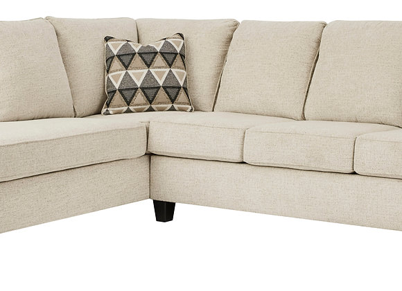 Abinger 2PC Sofa w/ LAF Chaise - Natural