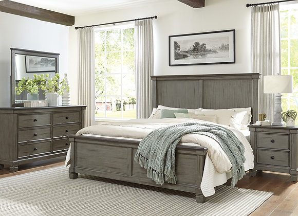 Weaver Bedroom Collection -Gray