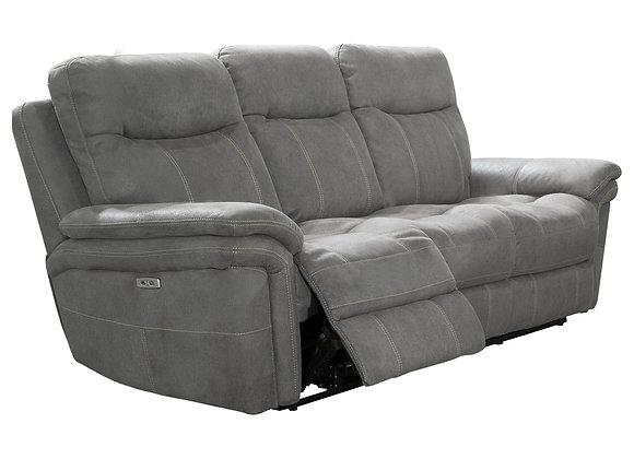 Mason Power Reclining Sofa with PWR Headrest - Carbon