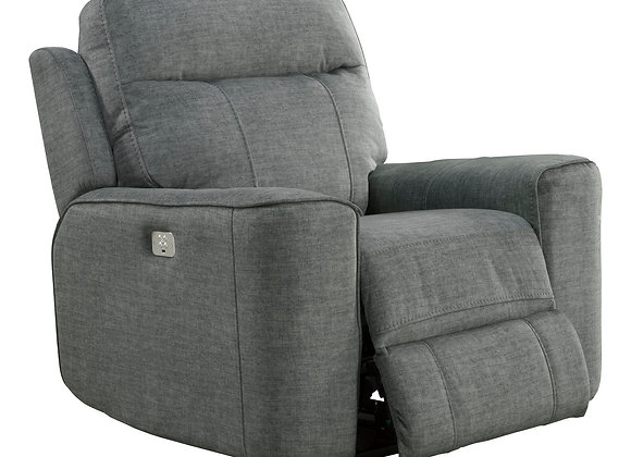 Parthenon Power Recliner with PWR Headrest - Titanium