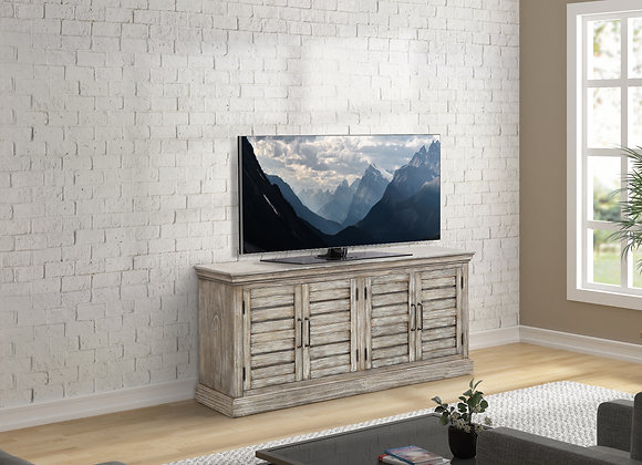 Prairie 68 Inch TV Console - Washed Cottage Gray