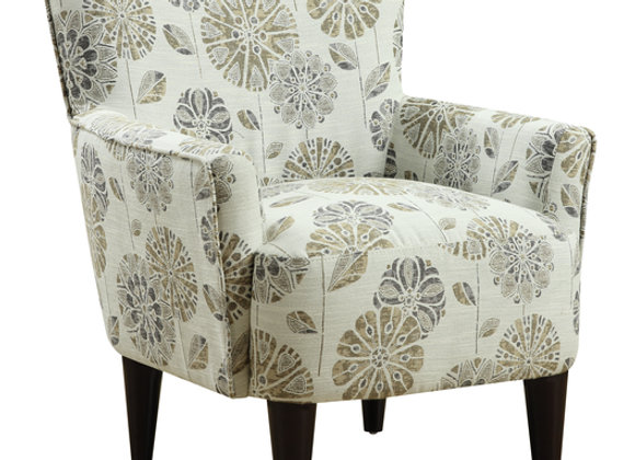 Flower Power Occasional Chair - Mineral