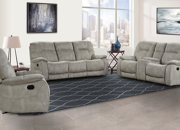 Cooper Triple Reclining Sofa - Natural