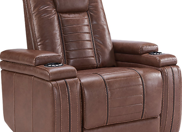 Megatron Power Recliner w/ Power HDRST - Umber