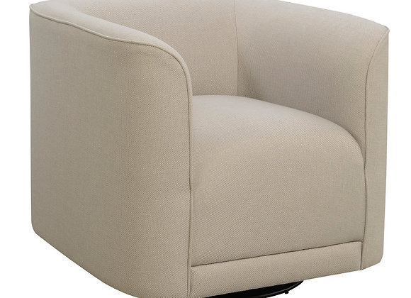 Whirlaway Swivel Accent Chair - Beige