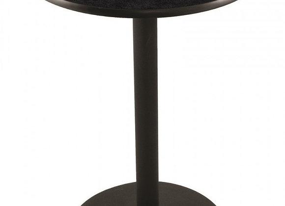 36 Inch Round/42 Inch Pub Table - Black