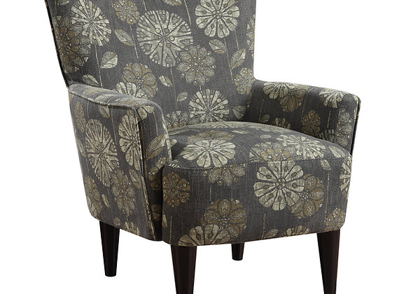 Flower Power Occasional Chair - Pewter