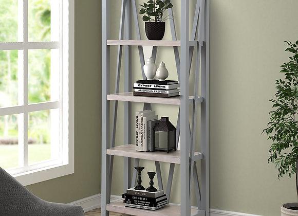 Americana Modern Etagere Bookcase - Dove