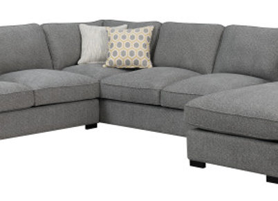 Repose 3PC Sectional - Gray