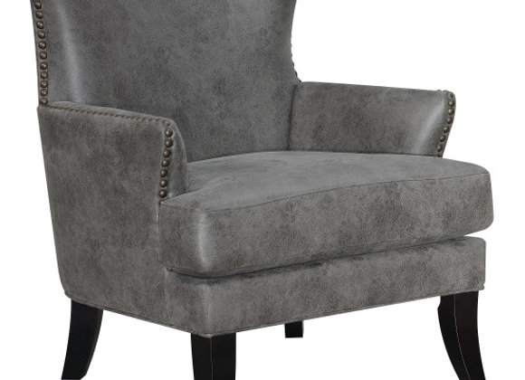 Nola Accent Chair - Charcoal