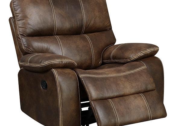 Jessie James Swivel Gliding Chair - Brown