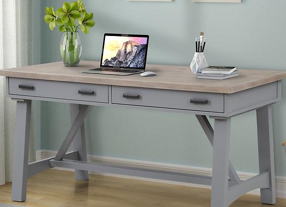 Americana Modern 60 Inch Writing Desk - Dove