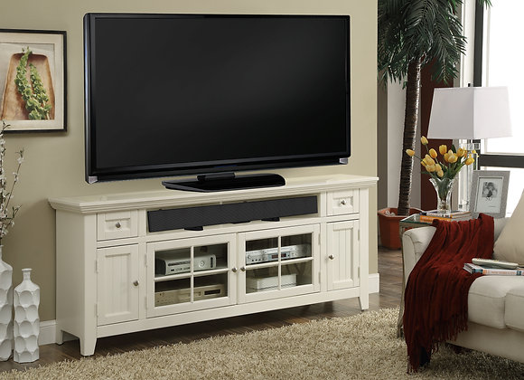 Tidewater 72 Inch TV Console - Vintage White
