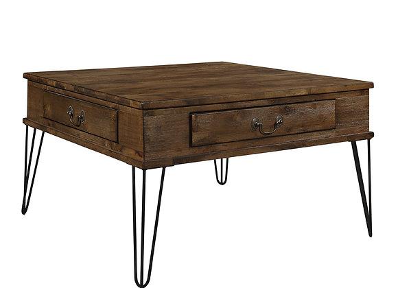 Shaffner Square Coffee Table - Rustic