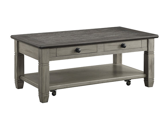 Granby Coffee Table - Gray/Brown