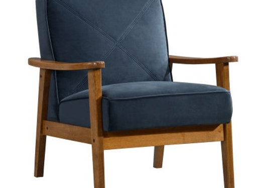 Vance Accent Chair - Blue