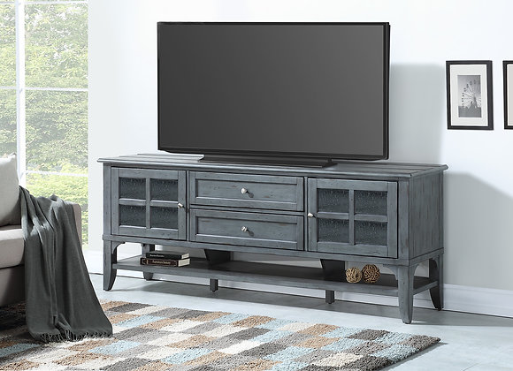 Highland 76 Inch TV Console - Vintage Moss