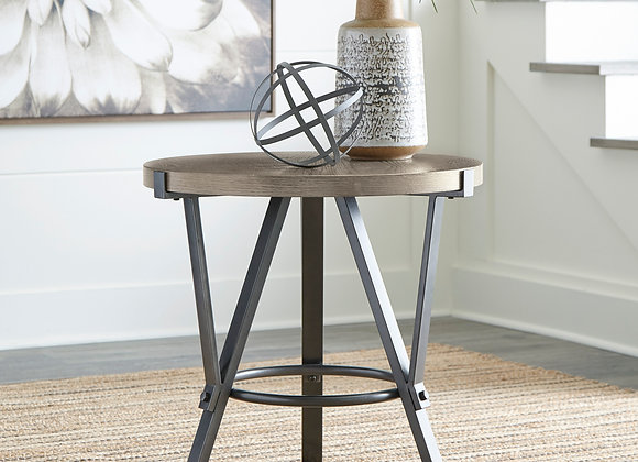 Zontini Round End Table