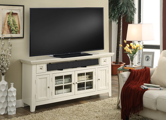 Tidewater 62 Inch TV Console - Vintage White
