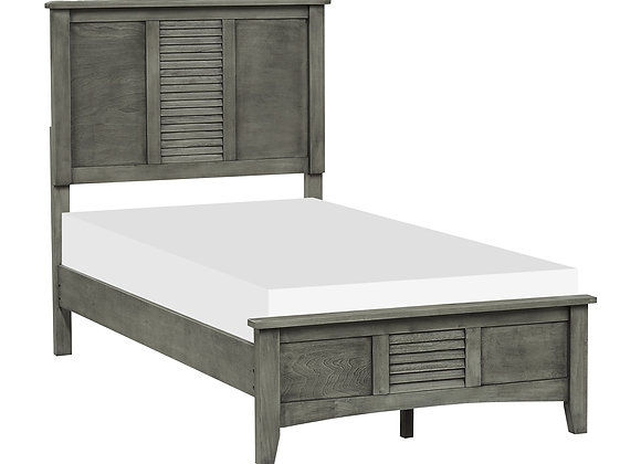 Garcia Twin Bed - Gray