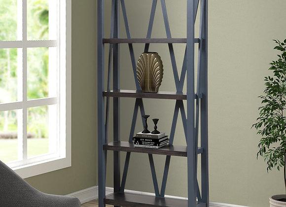 Americana Modern Etagere Bookcase - Denim
