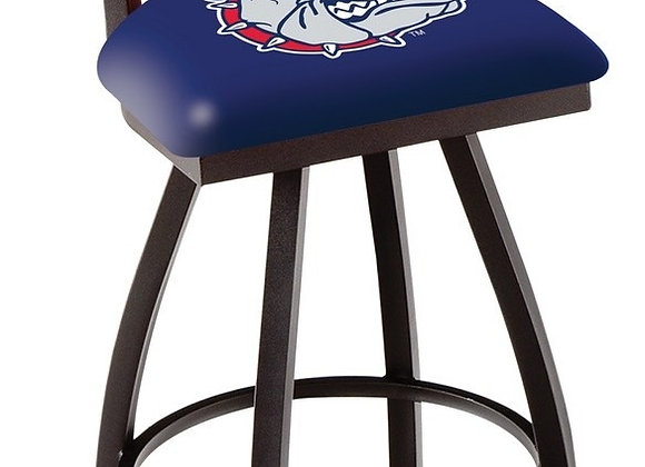 Clark Ladder Back 30 Inch Barstool - Black