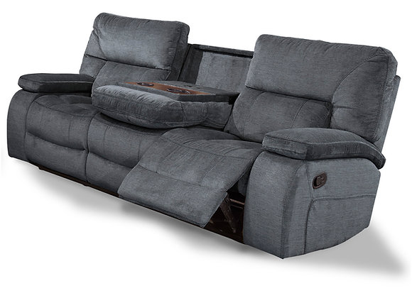 Chapman Reclining Sofa with Drop Down Console - Polo
