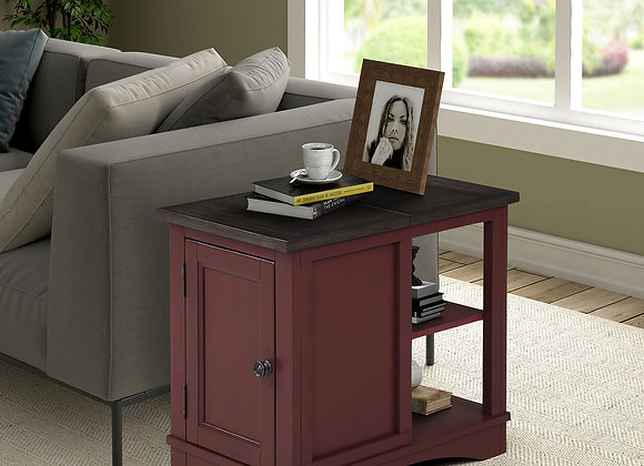 Americana Modern Chairside - Cranberry