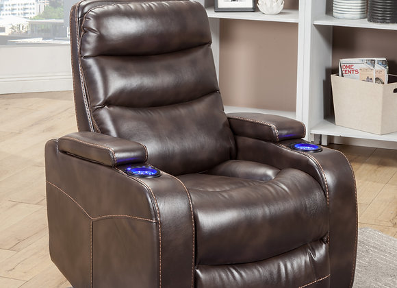 Genesis Power Recliner - Truffle