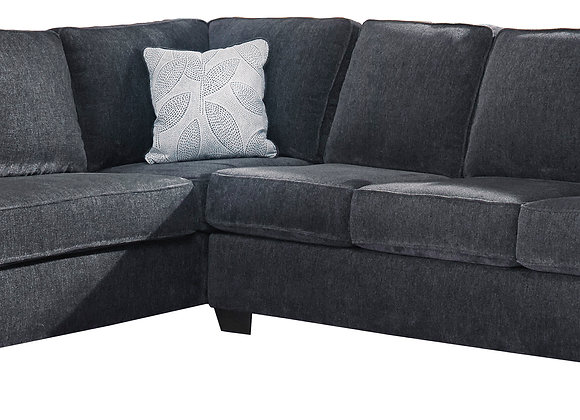Altari 2PC Sectional w/ LAF Chaise - Slate