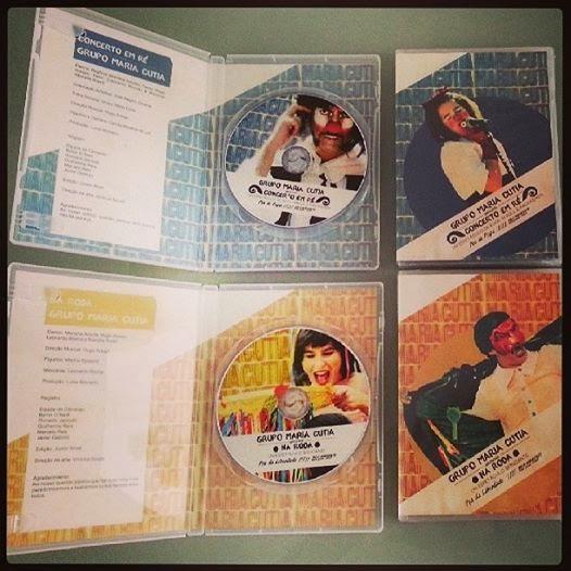 DVDs espetáculos