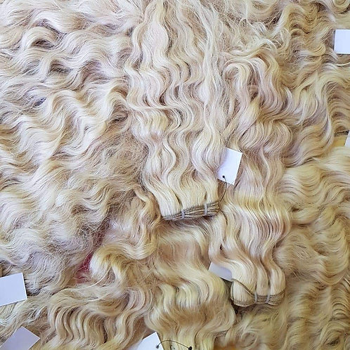 Blonde Indian Remy hair Extensions