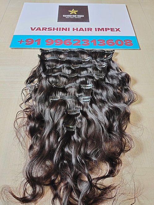 CLIP-IN HAIR EXTENSIONS- South Indian Raw Hair