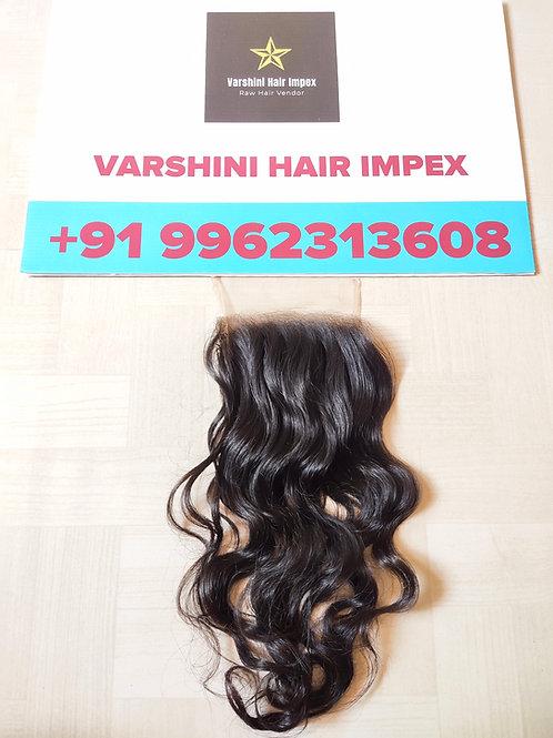 "5""x5"" Closure Raw Indian Weave Hair"