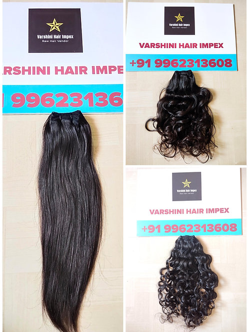 """12"""" TO 30"""" INCH BUNDLE DEAL SOUTH INDIAN RAW HAIR - 10 BUNDLES"""