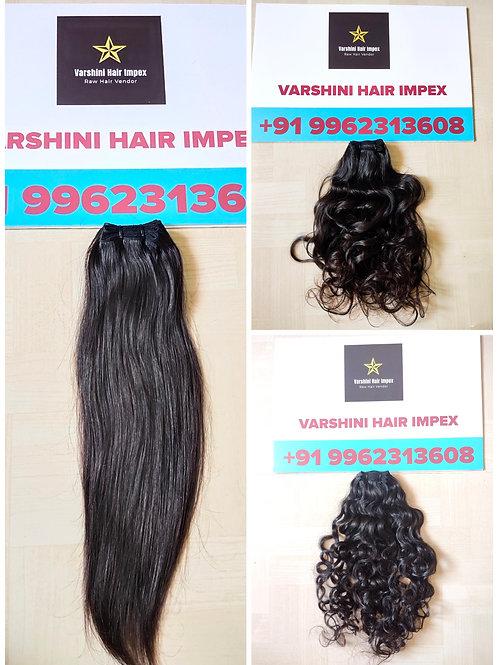 "16"" - 24"" INCH BUNDLE DEAL SOUTH INDIAN RAW HAIR - 10 BUNDLES"
