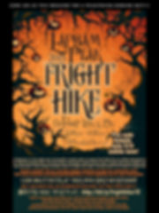 COME SEE US THIS WEEKEND FOR A FRIGHTENI