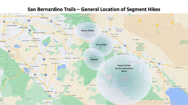 San Bernardino Trails - General Segment