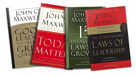 john c maxwell, 15 laws of leadership, today matters, good leaders ask great questions