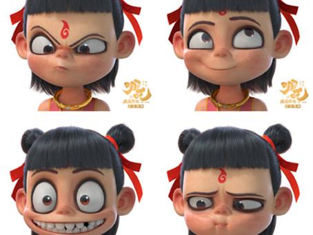 China's most popular cartoon at the moment—Ne Zha