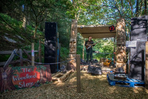 The Woodland Stage
