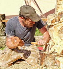 Wood carving workshop!
