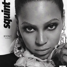 BEYONCE SQUINT MAG