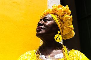 Brazilian woman of African descent, Bahi