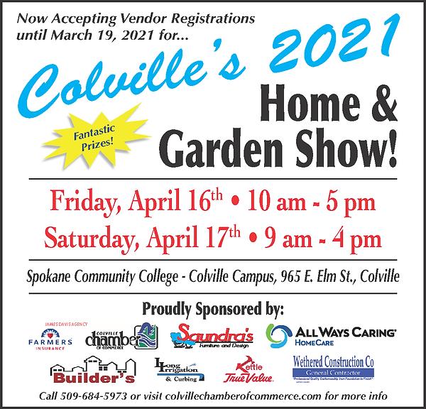 Home and Garden Show Vendor ad Colville