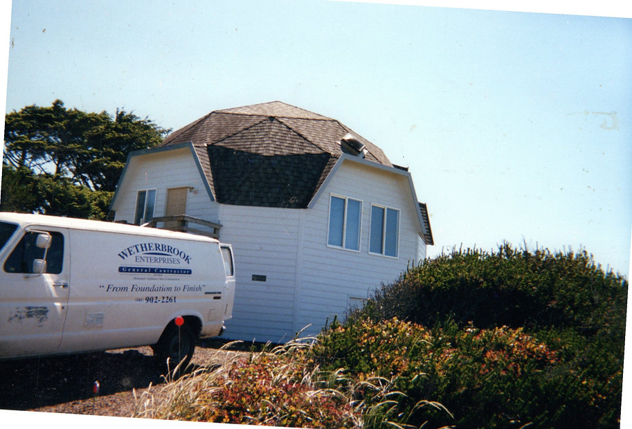 Heceta Beach Dome House Florence Oregon