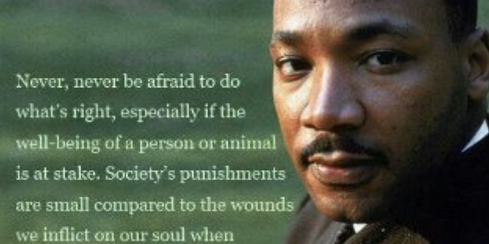 Martin Luther King, Jr. Day – No School
