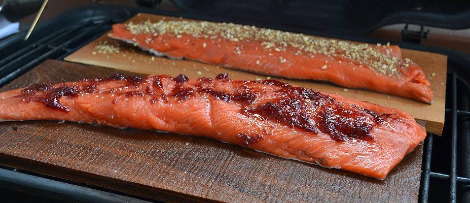 Salmon Cedar Plank Recipe