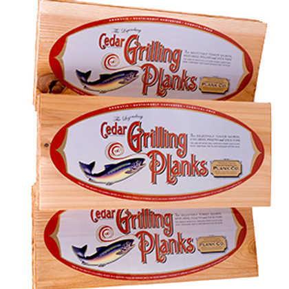 12 Pack Cedar Grilling Planks